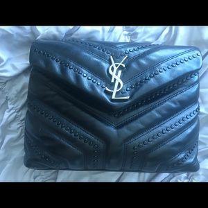 Y Saint Laurent Shoulder Bag Black